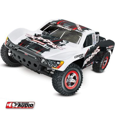 Автомобиль Traxxas Slash Short Course 1:10 RTR 568 мм OBA 2WD 2,4 ГГц (58034-2 White)